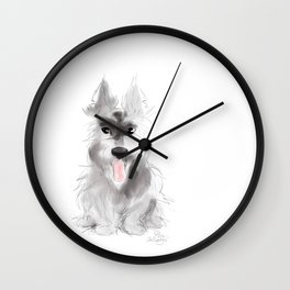 Summer in the Highlands Wall Clock