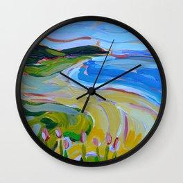 Whaleback Wall Clock