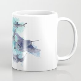 Star Sharks & Rays Coffee Mug