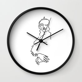 Line Gioconda Wall Clock
