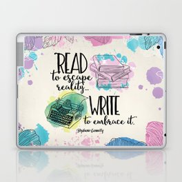 Write to Embrace design Laptop & iPad Skin