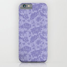 Lotus flowers and kingfishers iPhone Case