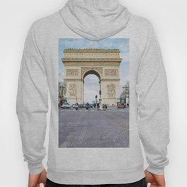France, Triumphal Arch, Paris Hoody