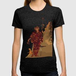 BACCHUS AT POMPEII - VESUVIUS T-shirt