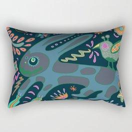 Jumping Rabbit Rectangular Pillow