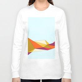 Folding Colors Long Sleeve T-shirt