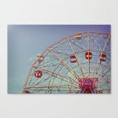 Wonder Wheel (Coney Island) Canvas Print