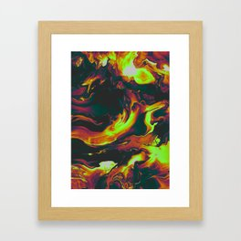 WAITING FOR THE BAD THING Framed Art Print