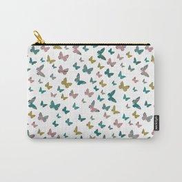 butterflies_pink Carry-All Pouch