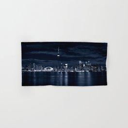 Toronto Skyline, Blue Hand & Bath Towel