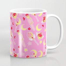 Sailor Moonie on Pink Coffee Mug