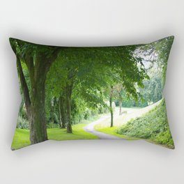 The Path To Wellbeing Rectangular Pillow