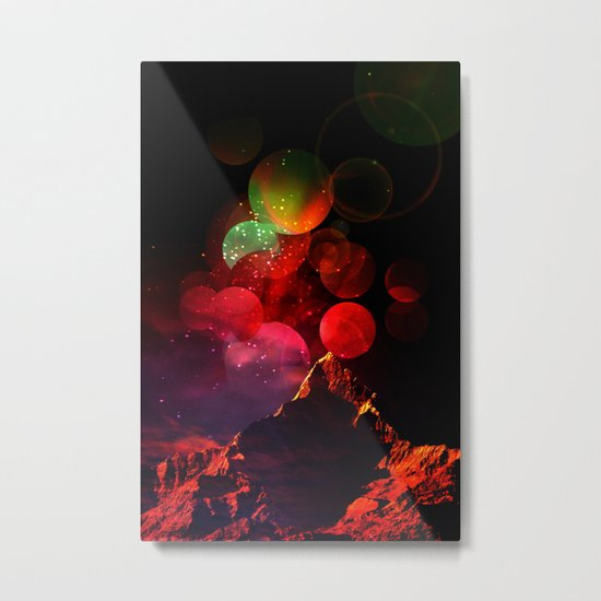 It All Started with a Bang Metal Print