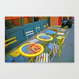 open seating Canvas Print