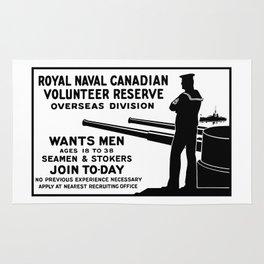 Royal Naval Canadian Volunteer Reserve Rug