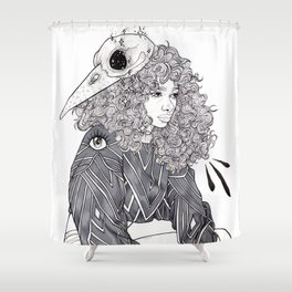 Leave Me Alone Shower Curtain