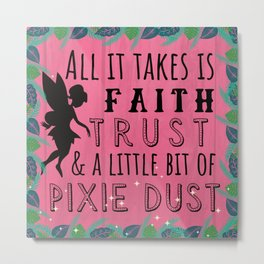 Pixie Dust Metal Print