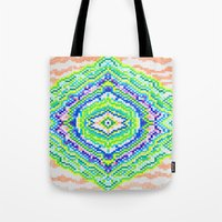 geology Tote Bags featuring Geology by Smiley's Dreamboat