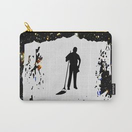 space mop sci-fi design Carry-All Pouch