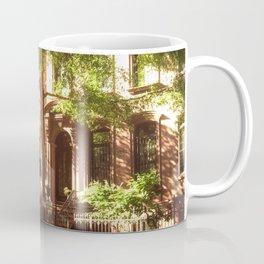 New York City Brownstones Coffee Mug