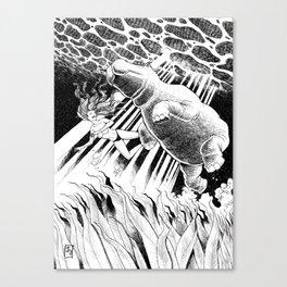 Hippotized Canvas Print