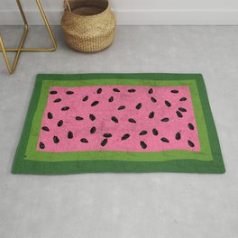 Watermelon Seeds Rug