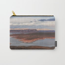 Cutting Through Lake Powell Carry-All Pouch
