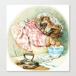 Mrs. Tiggywinkle by Beatrix Potter Canvas Print