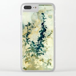 Shadows and Traces Clear iPhone Case