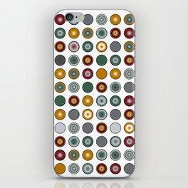 Circles Too iPhone Skin