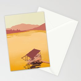 Mekong river Stationery Cards