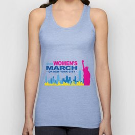 WomensMarchNYC Unisex Tank Top