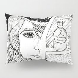 Apothecary Witch Pillow Sham
