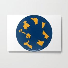 Mundo La Tribuna Provincias Metal Print