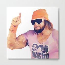 The Macho Man Metal Print