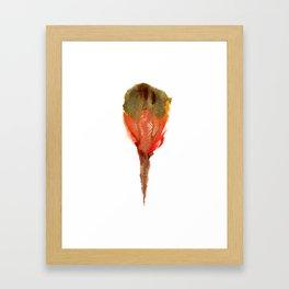 Ceren's Budding Flower Framed Art Print