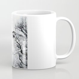 face in the trees Coffee Mug