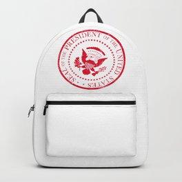 Presedent Seal Ruber Stamp Backpack