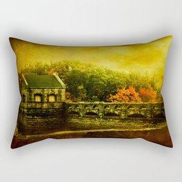 Dam Wall Rectangular Pillow
