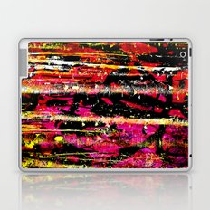 466 23 Abstract Pink and Gold Laptop & iPad Skin