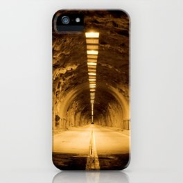 Late Hike Through Yosemite Tunnel iPhone Case