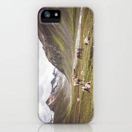 Tyrolean Haflinger horses I iPhone Case