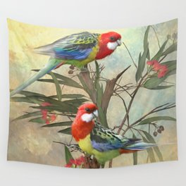 Eastern Rosella  Wall Tapestry