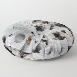 Stone is a hole Floor Pillow