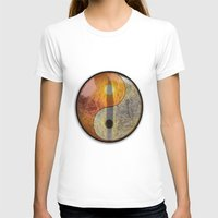 yin yang T-shirts featuring yin yang by Vector Art