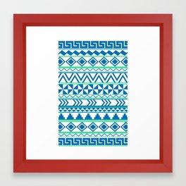 Tribal No. 3 Framed Art Print