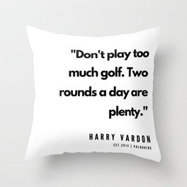 28    | Golf Quotes | 190606 Throw Pillow