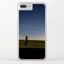 Star Scouting Clear iPhone Case