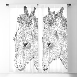 donkey Blackout Curtain