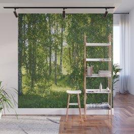 Beautiful Morning Summer Greenery #decor #society6 #buyart Wall Mural